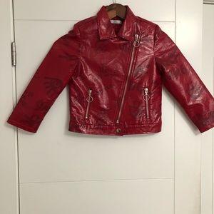 Y.Clu/Girls/Size 6 /Red /Fashion Short Jacket
